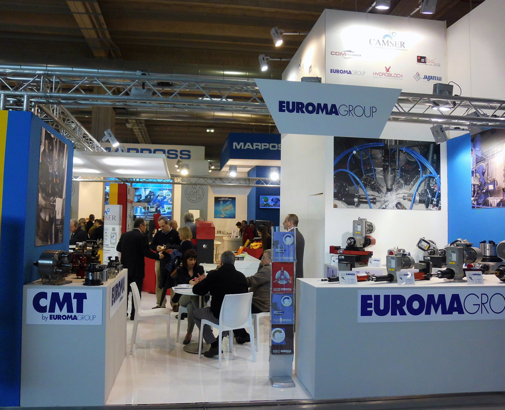 MECSPE 2015 - CAMSER collective stand - EUROMA