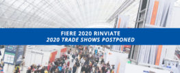 Trade shows scheduled in the first half of 2020 cancelled