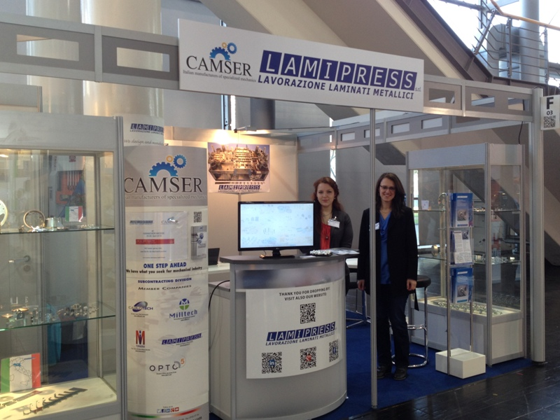 Hannover messe 2016 - Divisione Subfornitura Camser