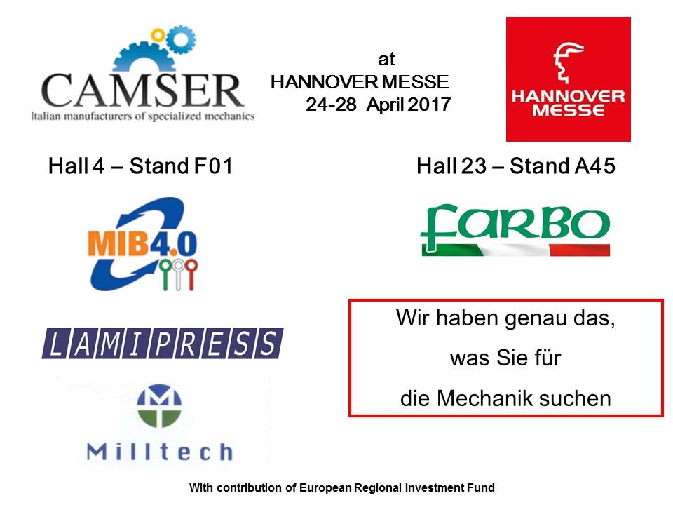 Camser at HannoverMesse 2017
