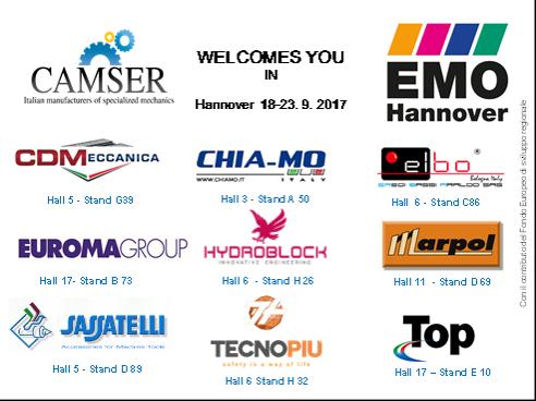 Camser partecipa a EMO 2017