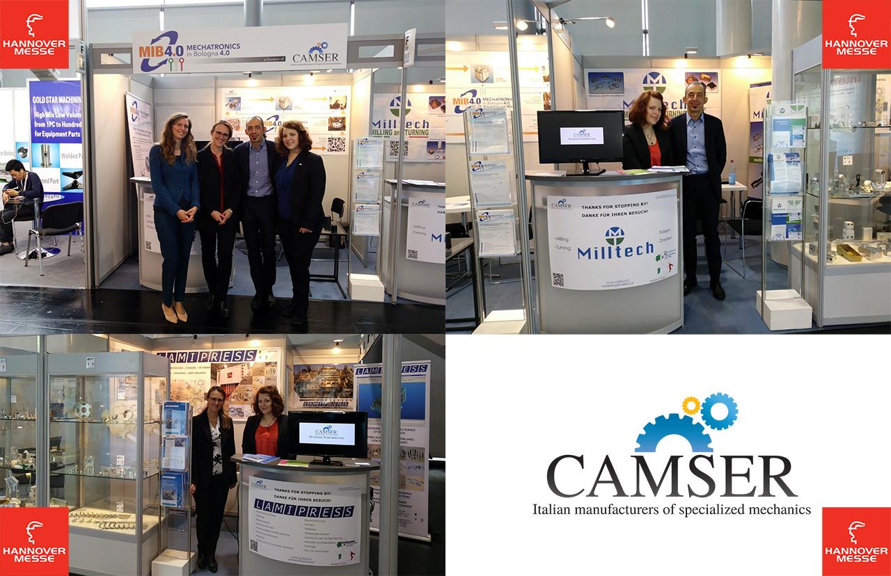Camser at Hannovermesse 2018