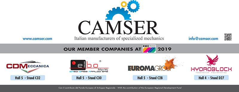 Camser EMO 2019 250x100